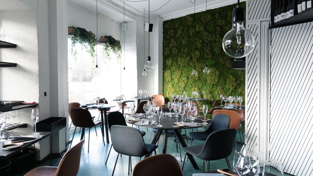 Restaurant Mes på Jarmers Plads i København