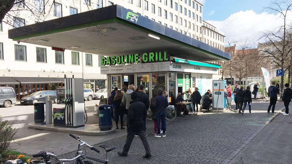 Popular burgers in Copenhagen