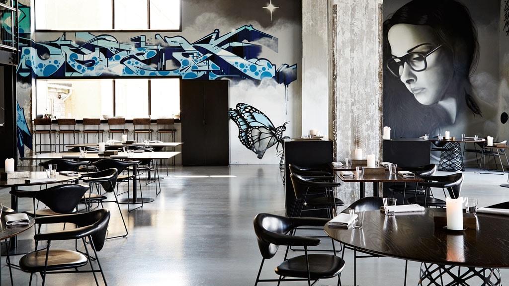 Gourmetrestauranten Amass på Refshaleøen i København