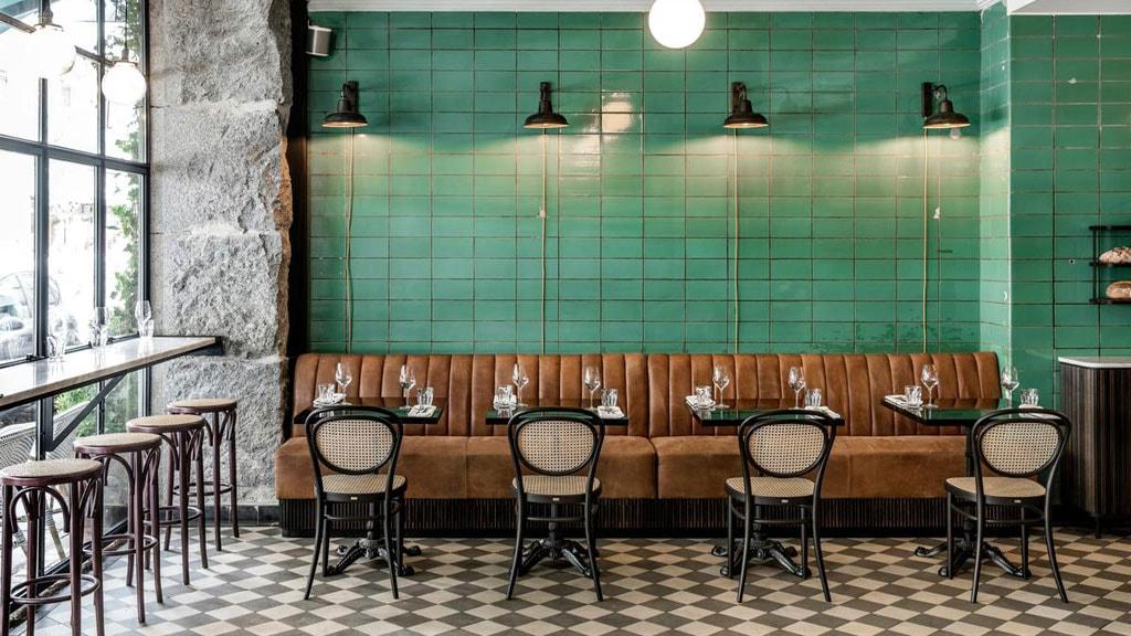Restaurant Le Troi Cochon på Værnedamsvej