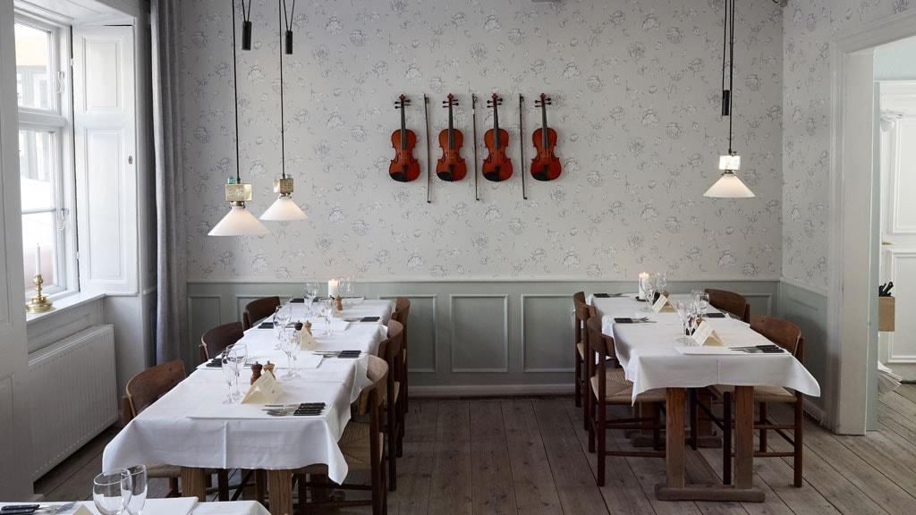 Restauranten Peder Oxe på Gråbrødretorv.