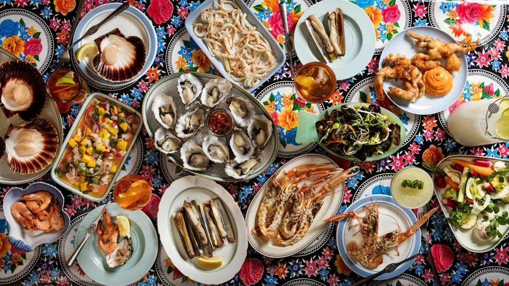 Oysters & Grill in Nørrbro, Copenhagen