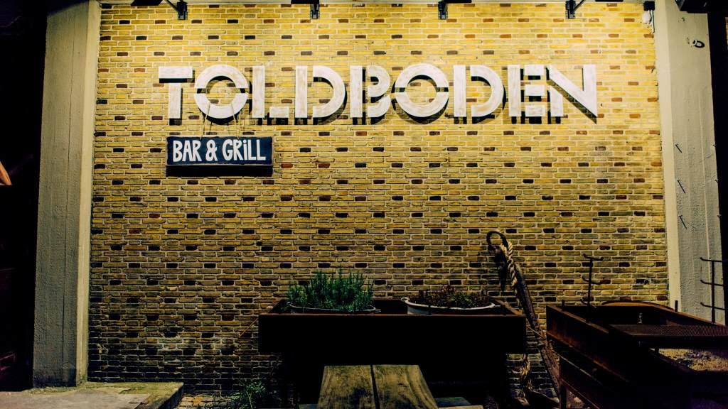 Toldboden restaurant and bar Copenhagen