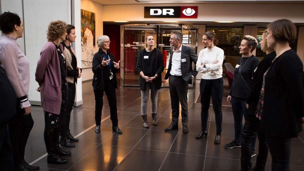Guided tours at the Danish Broadcasting Corporation