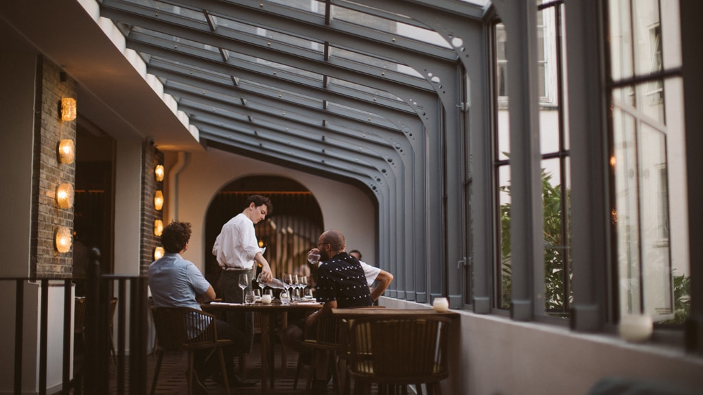 Restaurant Alouette in Copenhagen.