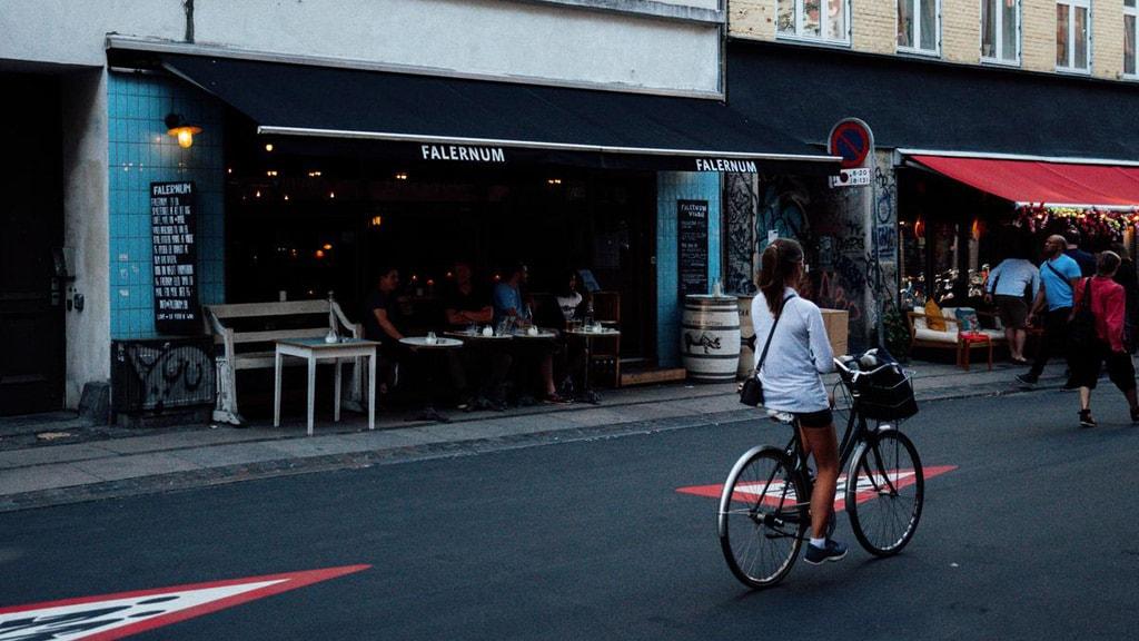 Falernum wine bar in Vesterbro