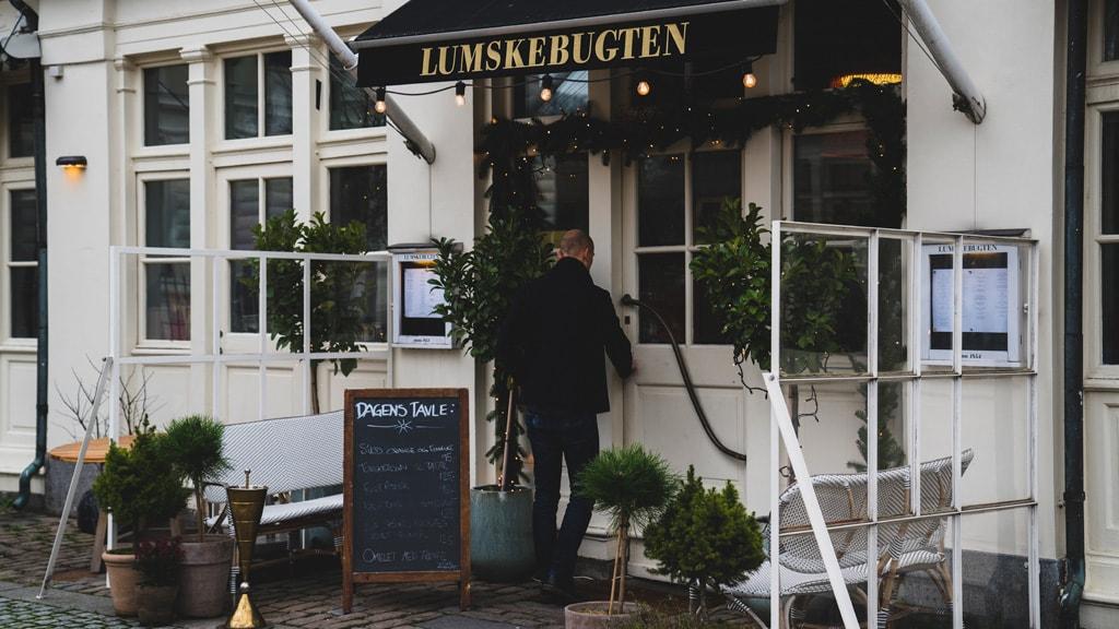 Chef Erwin Lauterbach of Restaurant Lumskebugten