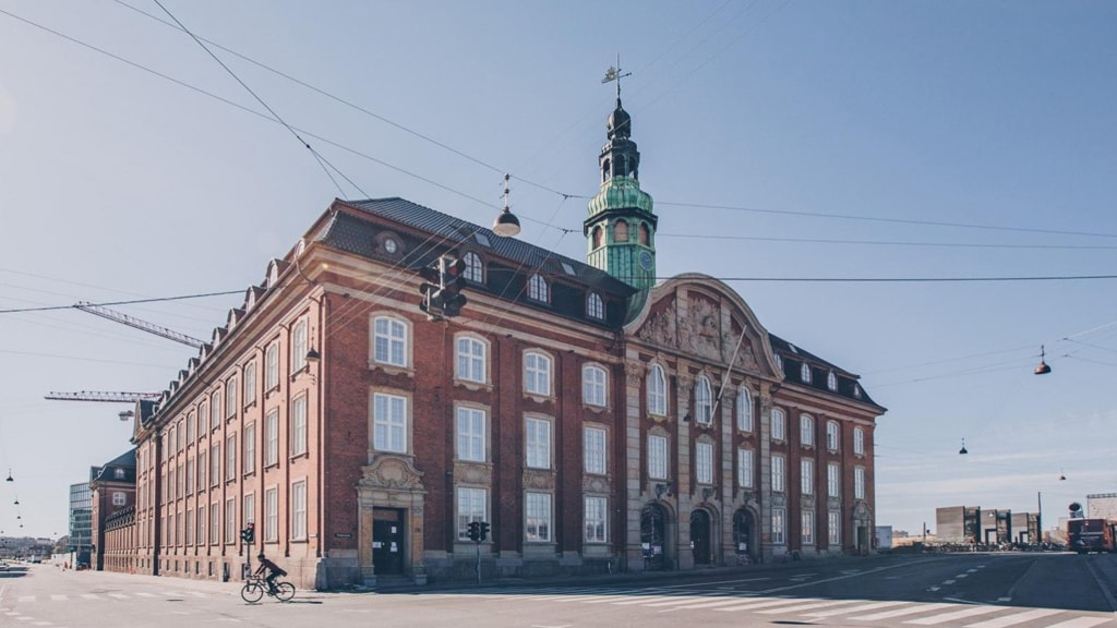 Villa Copenhagen is located in the refurbished central post office in Copenhagen
