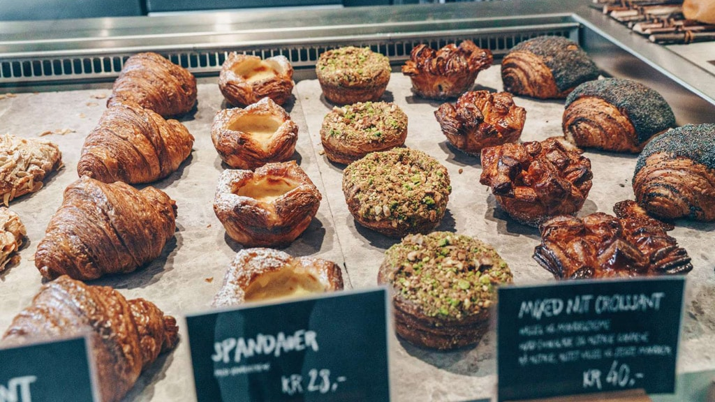 Experience Danish pastry and high quality bread at the super popular Hart Bakery in Copenhagen.
