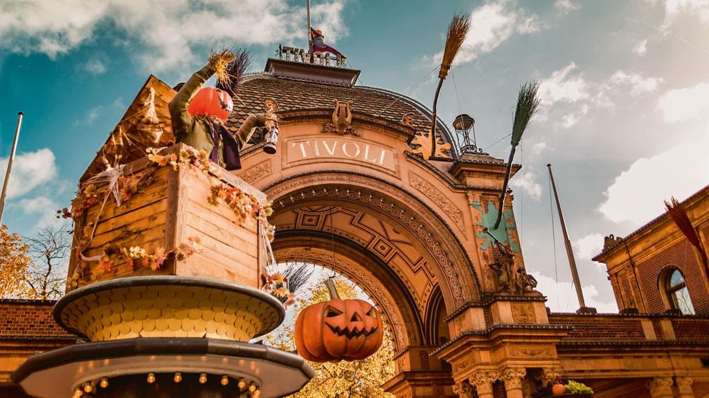 Halloween in Tivoli Gardens