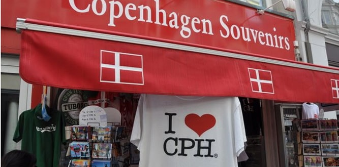 Copenhagen Souvenir Shop