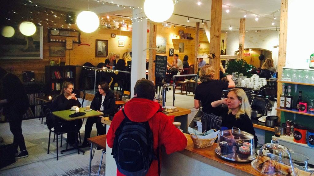 Kaffebar Blichfeldts Bønner i Hillerød