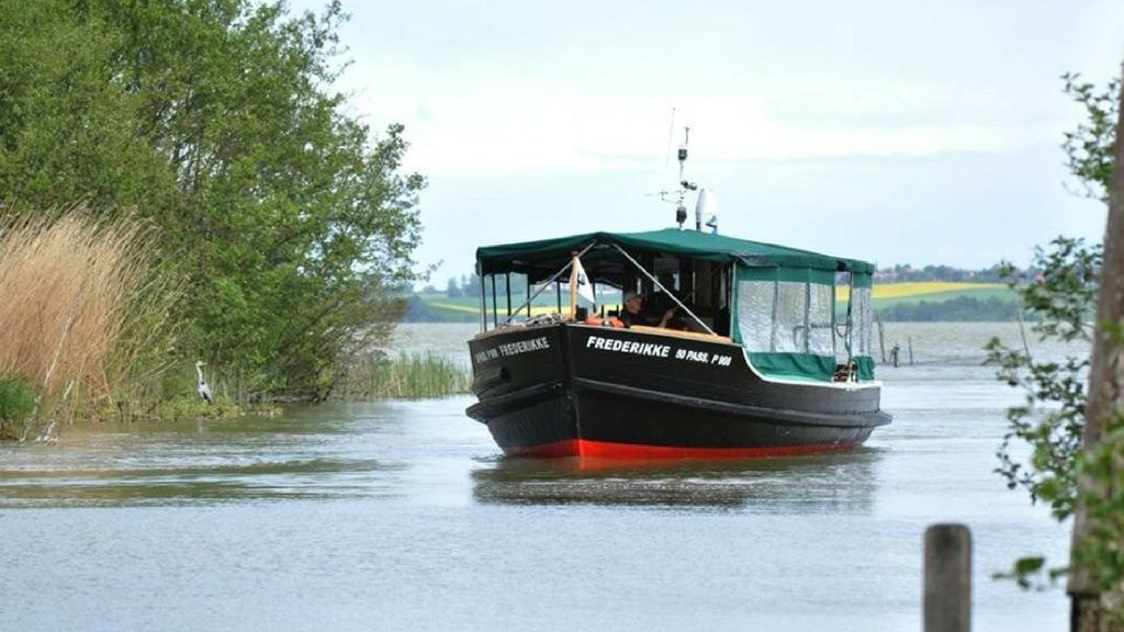 Tag med på sejltur på Arresø med M/S Frederikke