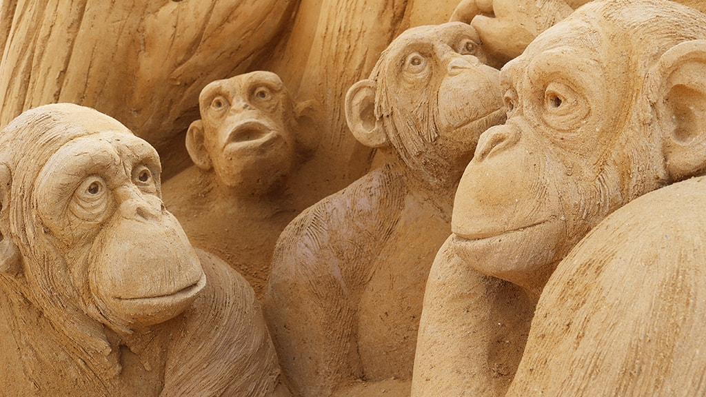 Sandskulpturpark
