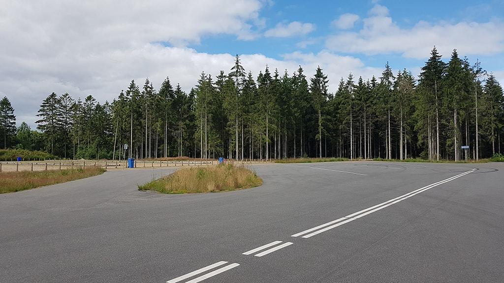 Parkering på Granvej