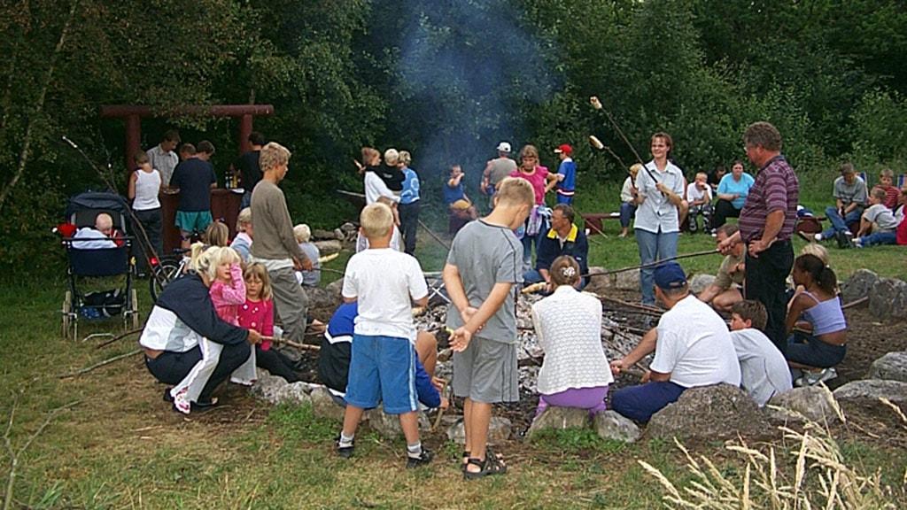 Djurs Hytteby & Camping bålplads