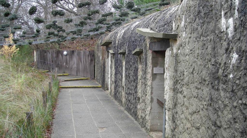 Bunker im Fischerei- und Schifffahrtsmuseum Esbjerg