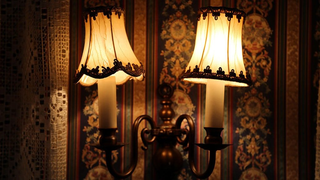 Lamps at Café Denmark
