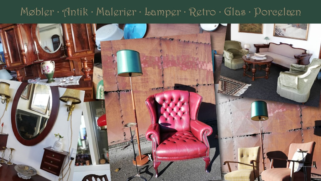 Guldager Antique | Antique and Retro shop