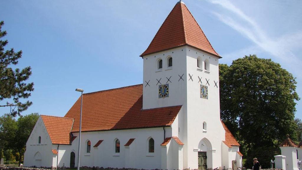 St. Ansgar Church in Bramming
