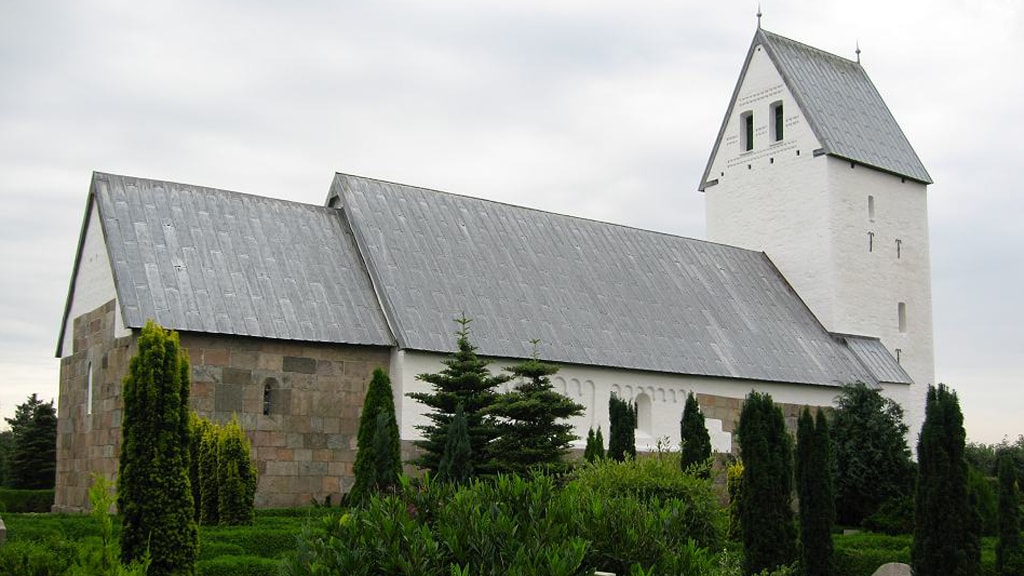 Tjæreborg church close to Esbjerg