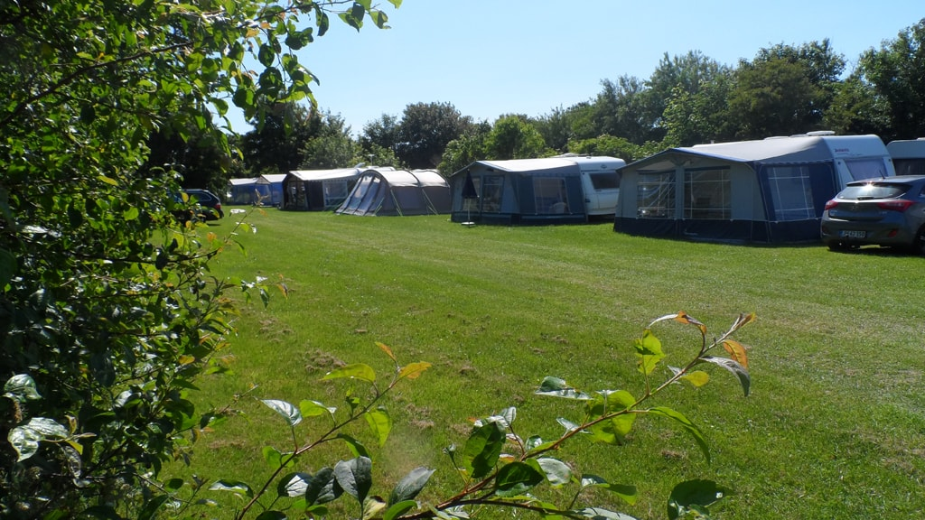 Campsites at Sjelborg Camping