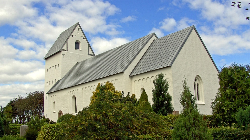 Sneum Church in Tjæreborg