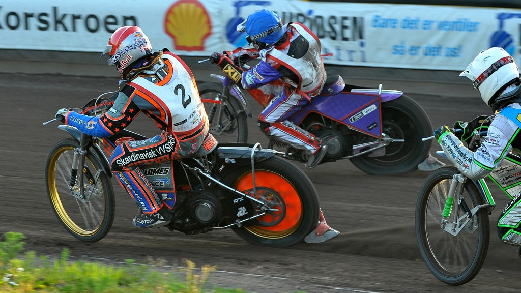 Motor racing at Granly Speedway Arena