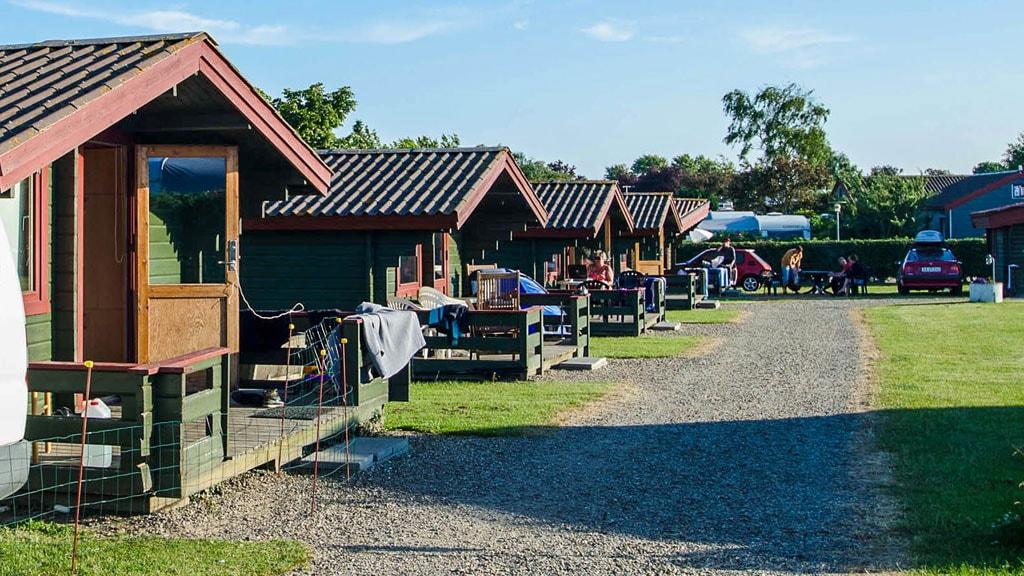 Hytter på Gammelbro Camping