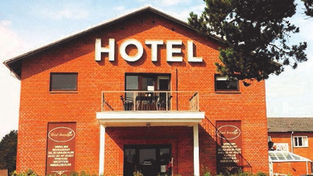Hotel Strandlyst, Front