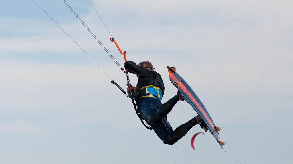 Thorsminde Camping - kitesurfing