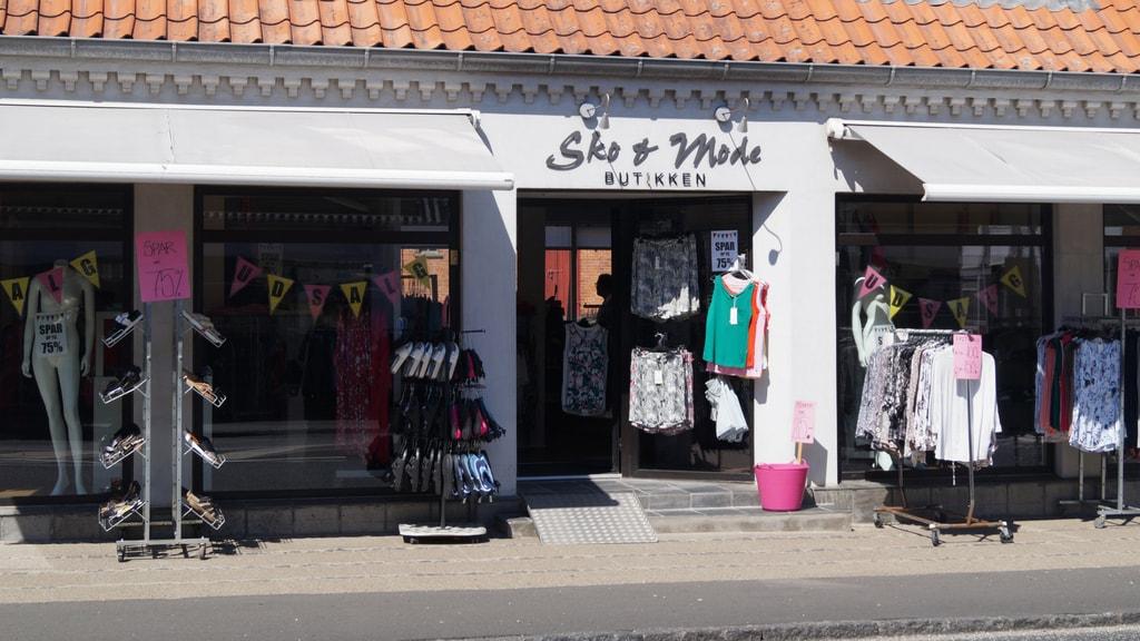 Sko og modebutikken