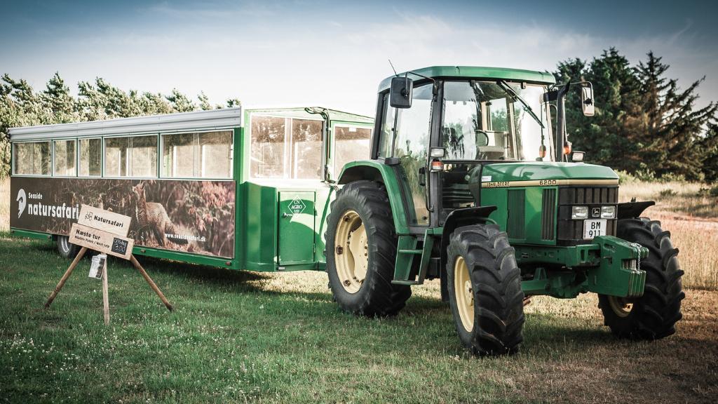 Traktorbus fra Jyllandsakvariet