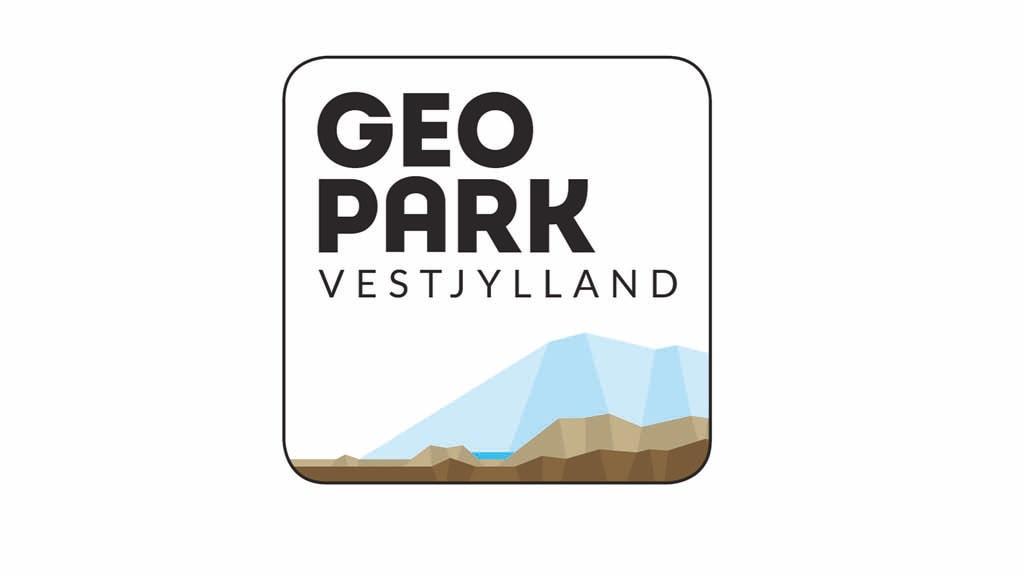 Geopark Vestjylland logo