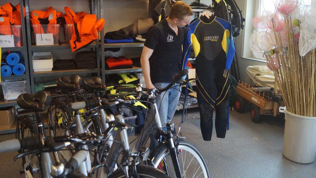 Grejbank Handbjerg Marina - cykler