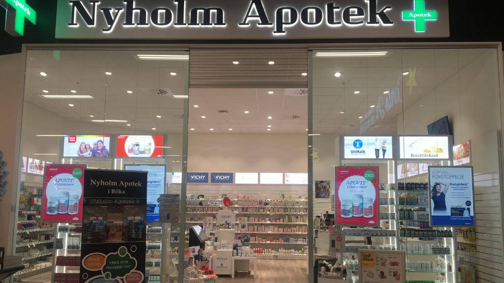 Nyholm Apotek - indgang