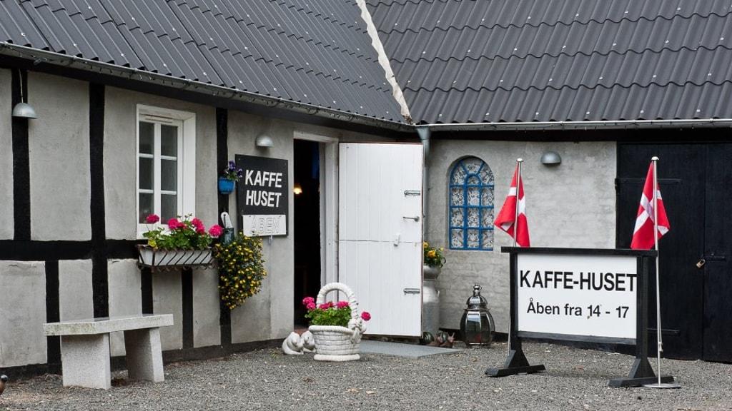 Kaffehuset indgang