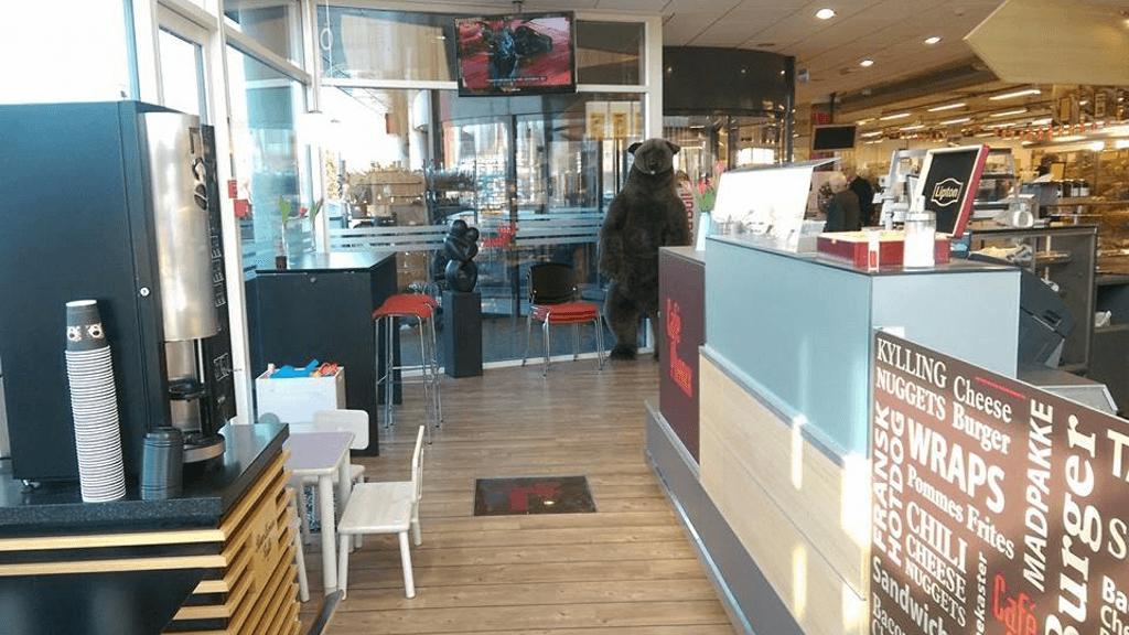 Café Phønix i Glud