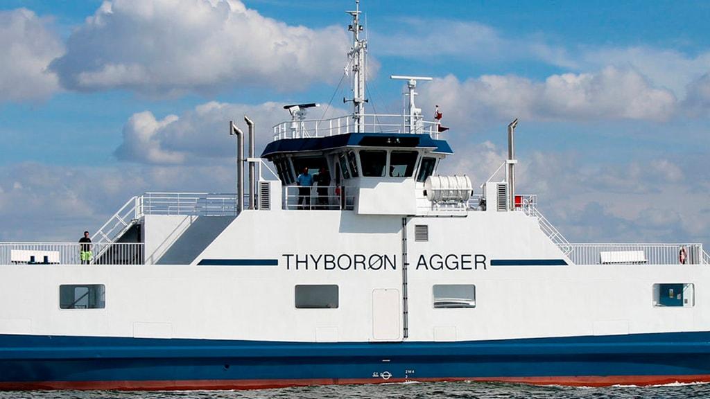 Thyborøn - Agger Færgefart
