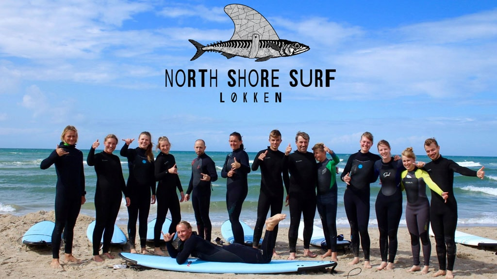 north shore surf kursus logo