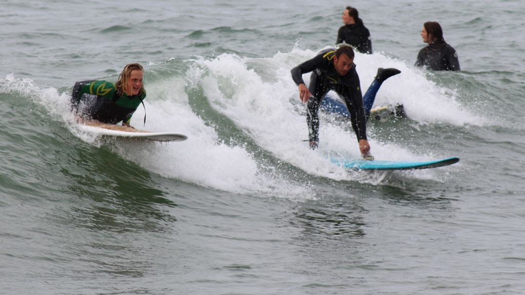 north shore surf surfing