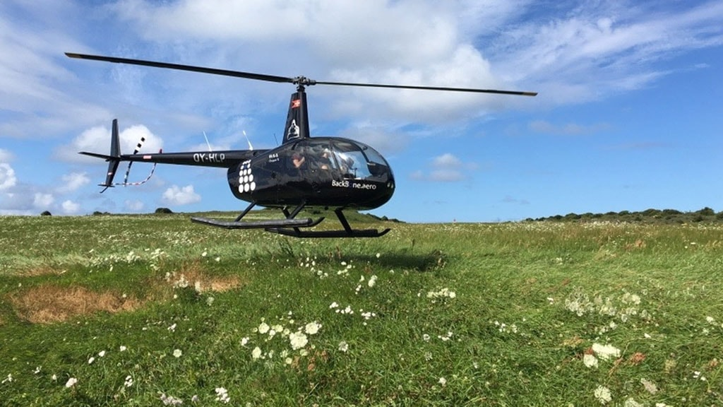 SIMA Helikopter rundflyvning flyvetur