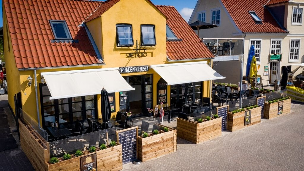 PAndekagehuset Løkken restaurant