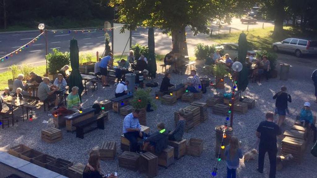 Kitzchen outdoor area