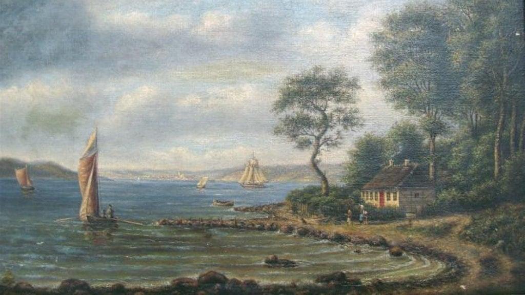 Hindsgavl Bro Maleri ca. 2870