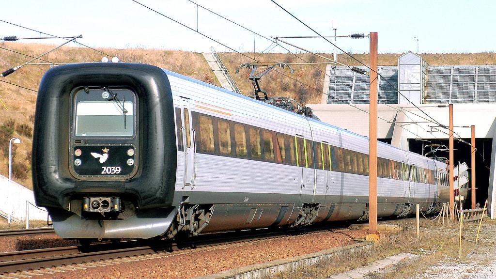 Tog fra Kastrup Lufthavn
