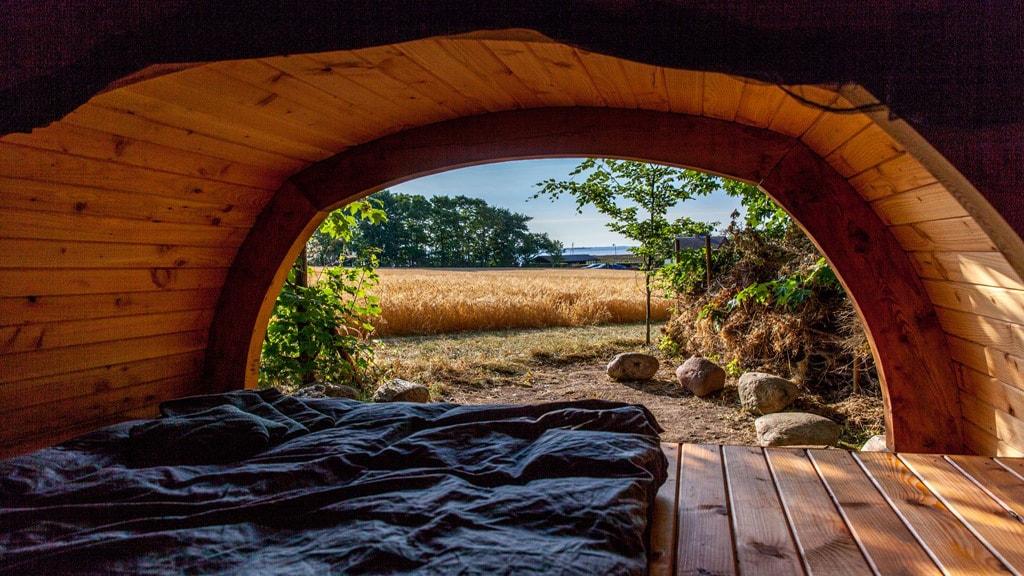 Gæsteriet outdoor shelter