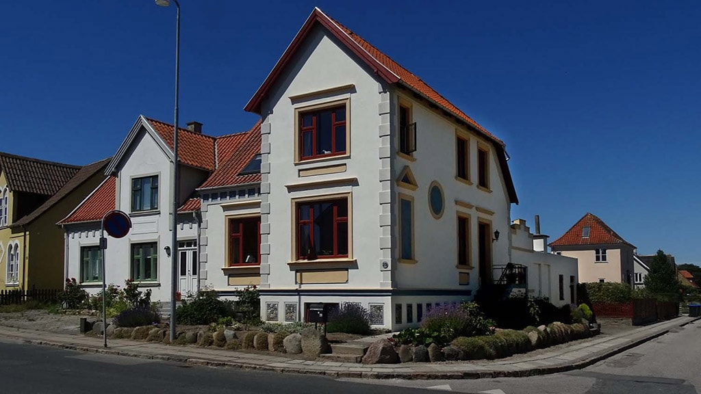 Alice Pedersens Bed & Breakfast i Bogense