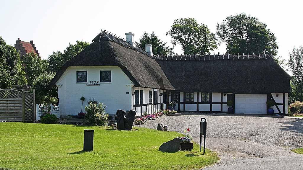 Landsbyen Lunde på Nordfyn