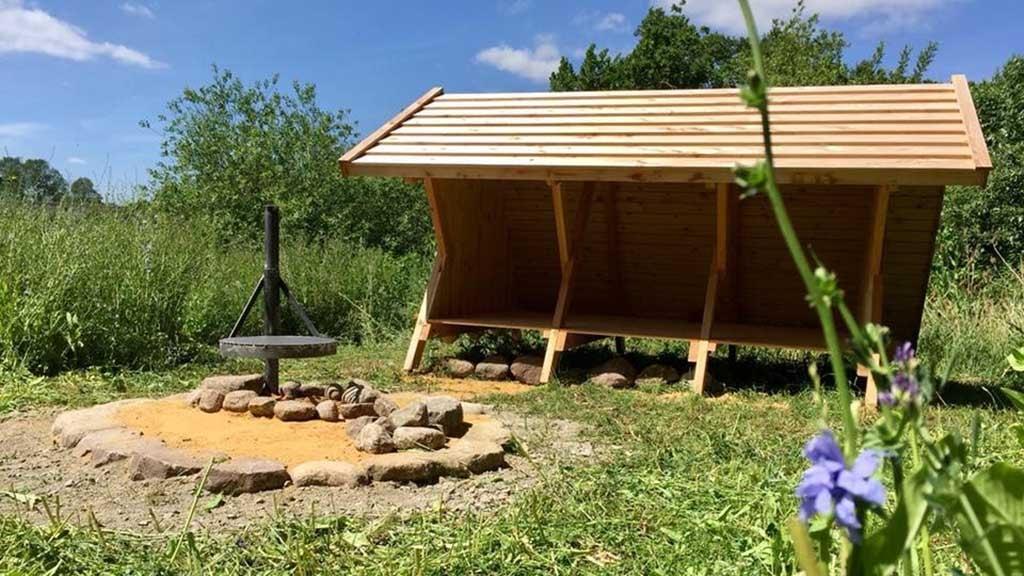 Shelter ved Veflinge